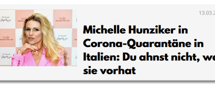 Für Sie geklickt (Corona-Ausgabe)