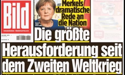 """Bild""s dramatische Verkürzung"